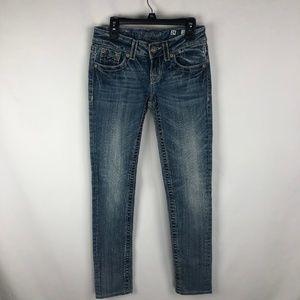 Miss Me Womens Skinny Cut Jeans Size 24